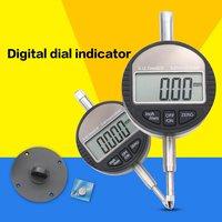 """Dial Indicator Gauge Digital Indicator 0-12.7mm 0.001mm 0.00005"""" Electronic Micrometer Micrometro Metric/Inch Dial Indicator Gau"""
