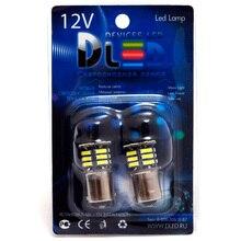 1 sztuk LED lampa samochodowa 1157 - P21/5W - S25 - BAY15d - 21 SMD 7014