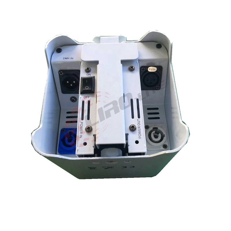 indoor 6x12w 6in1 wash par can battery wirrless dmx control  IRC remote dj dsco stage lights enlarge