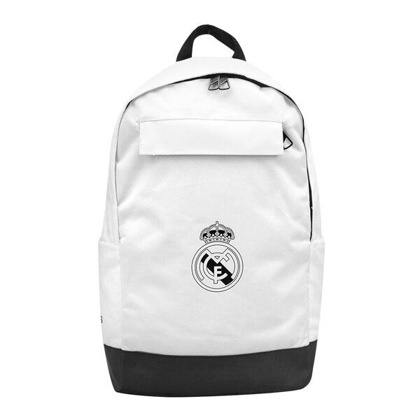 Sporttasche Adidas Real Madrid BP Weiß Schwarz