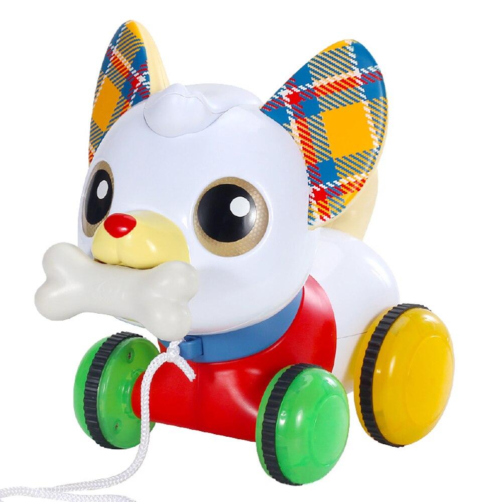Детские игрушки, электрическая Интерактивная милая собака, свинья, кормящая собак, радиоуправляемые игрушки-животные для малышей