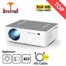 BYINTEK K20 полностью очистить 1080P 3D семейный кинотеатр игра LED видеоинтеллект андроид вифи 300 дюймов проектор