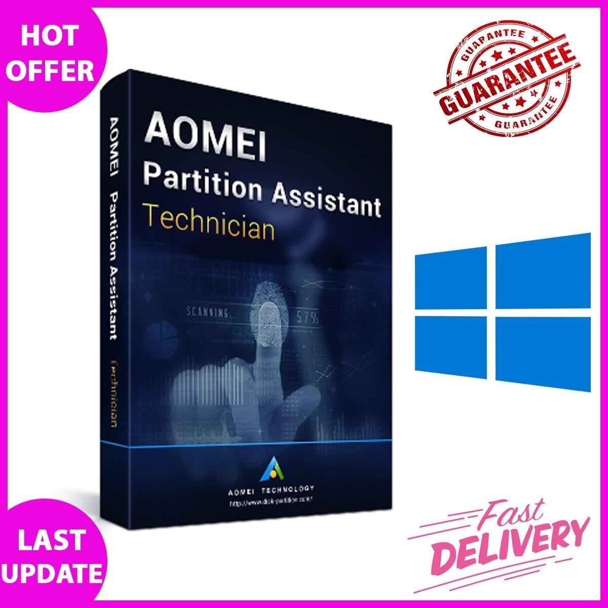 AOMEI – Assistant de Partition v9.1