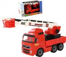 Autres professions jouets Polesie Volvo voiture feu (boîte) jeux pour garçons et filles pour enfants jouet pour enfants semblant jouer voitures profession