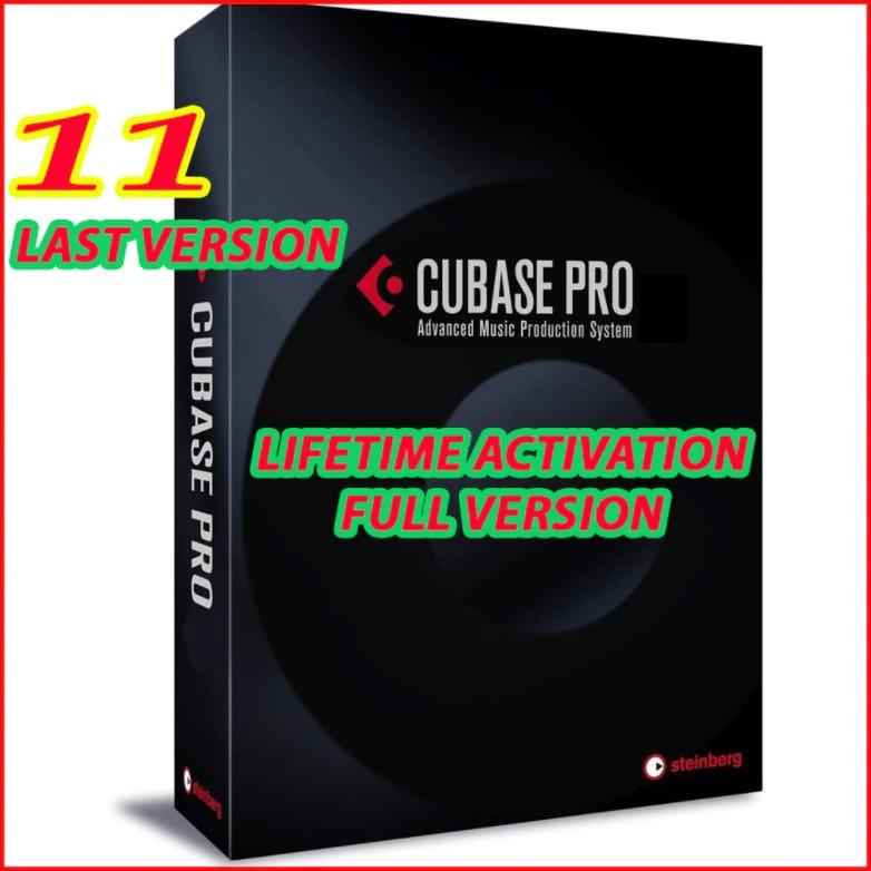 Steinberg Cubase Pro 11 Lifetime Activation