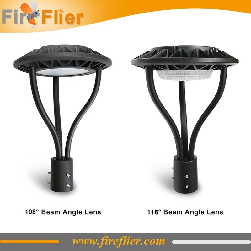 4pcs 130lm/w Led Street Light 100w 150w Dimmable IP65 Waterproof Outdoor Garden Pole Light OEM 60mm 80mm Post Top Area Lamp MW