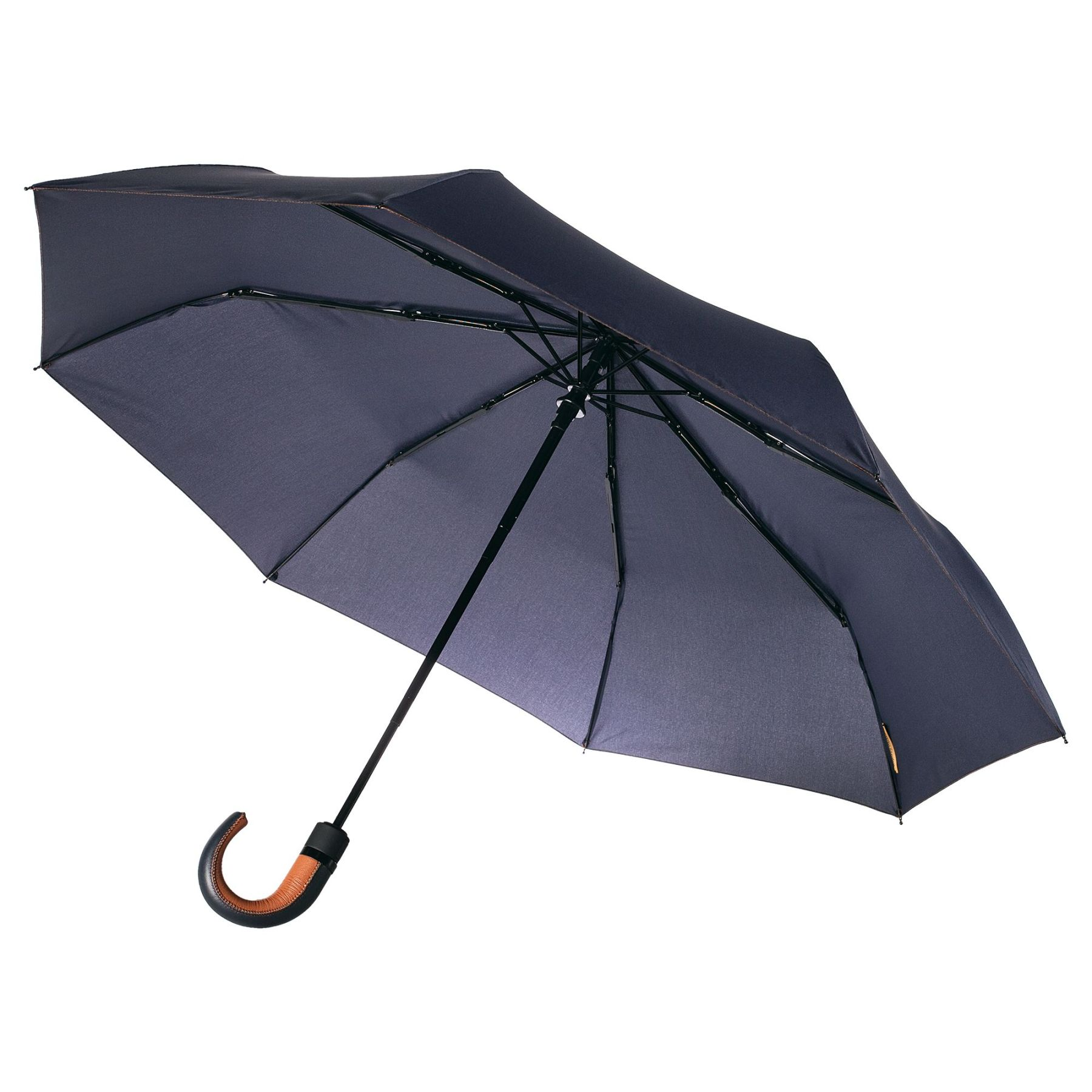 Folding umbrella Palermo, dark blue