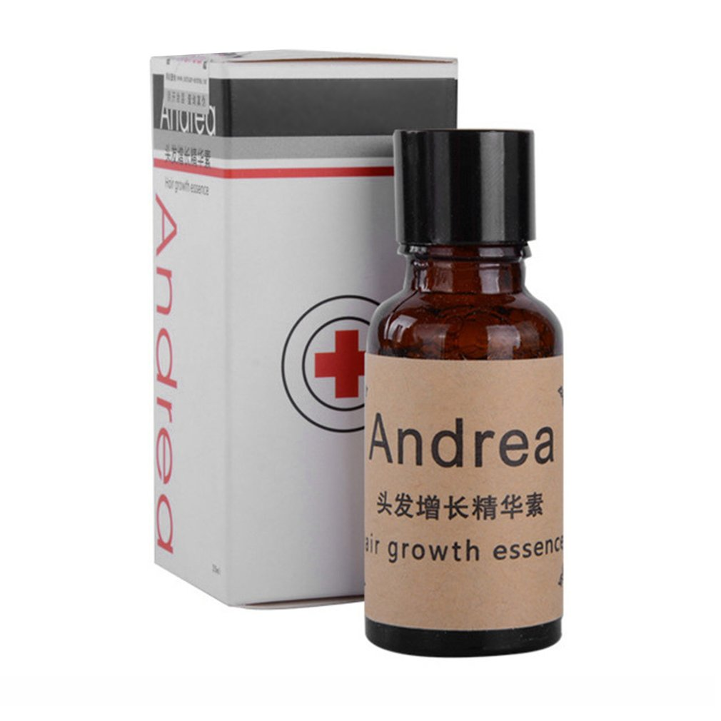 Andrea 20ML Hair Growth Essence Men Women Anti Loss Hair Liquid Dense Hair Growth Fast Hair Growing Restoration Pilatory
