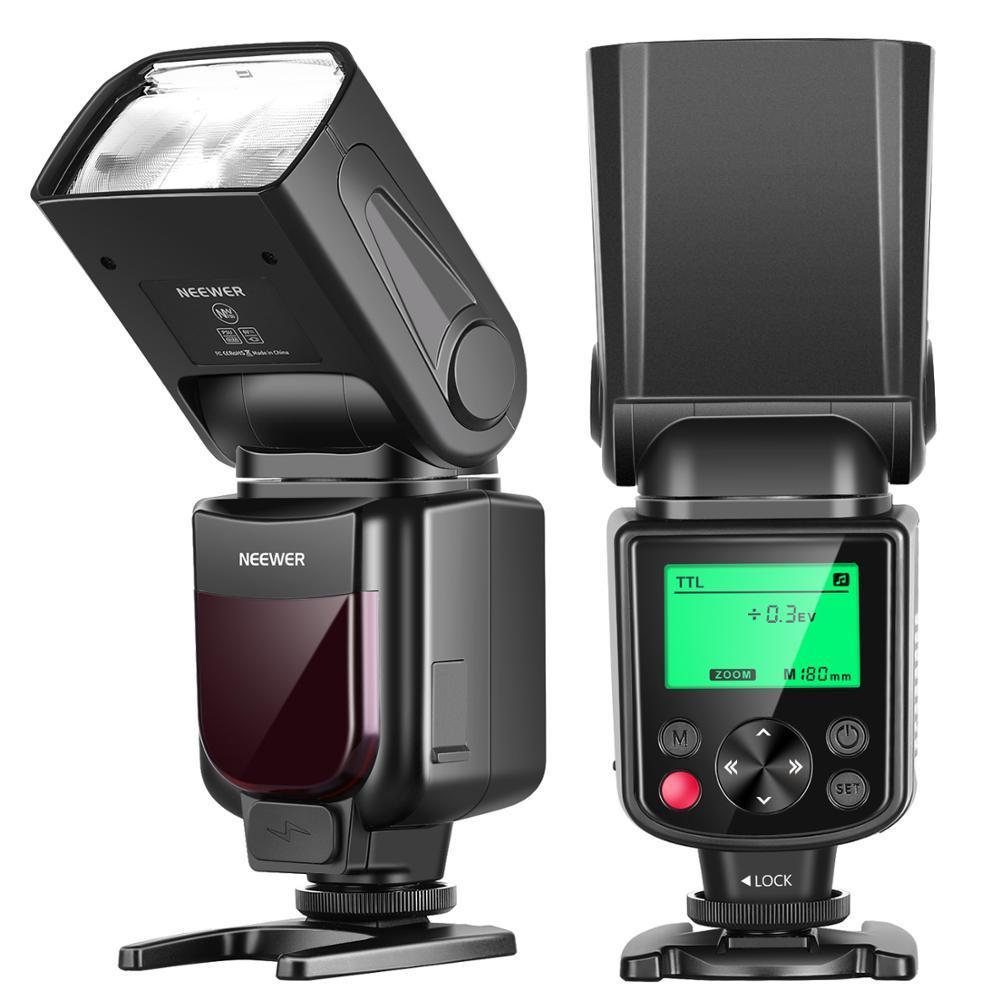 Neewer 750II TTL Flash Speedlite com Visor LCD para Nikon D7200 D7100 D7000 D5500 D5300 D5200 D5100 D5000 D3300 D3200 D3100