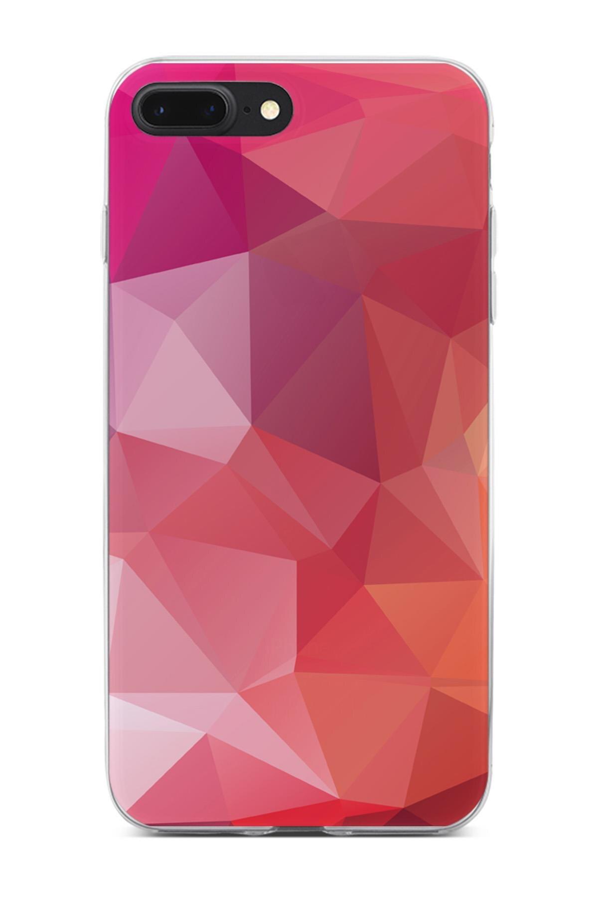 Para Apple iPhone 7 Plus caso triángulo serie Vivienne