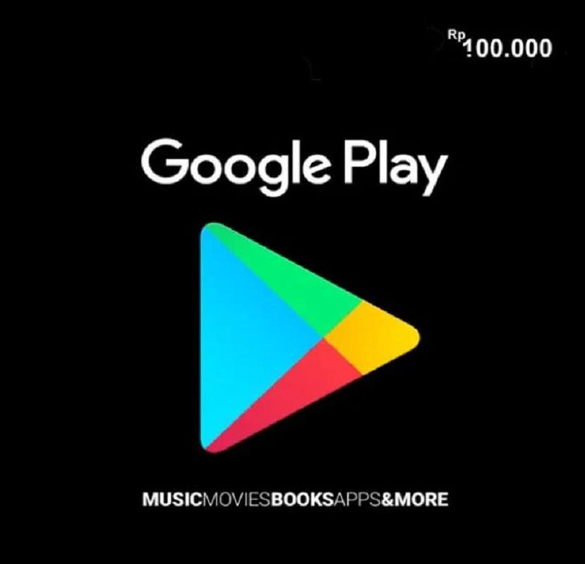 KODE VOUCHER GOOGLE PLAY IDR 100,000 (ID) no physical SHIPPING JUST DIGITALE DILIVERED IN ALIEXPRESS MESSAGE enlarge