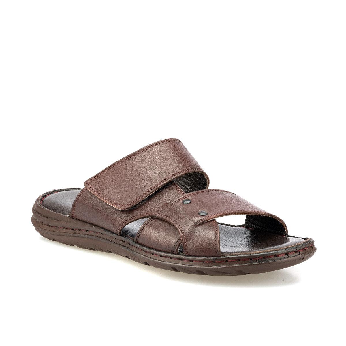 Flo 160264.m brown masculino chinelos polaris