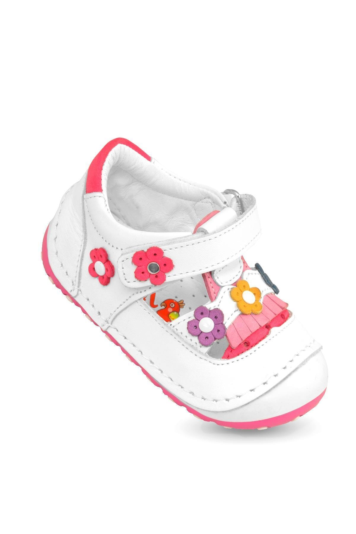 Flaneur Baby Girl Orthopedic Genuine Leather Booties Shoes 2021 Premium Quality