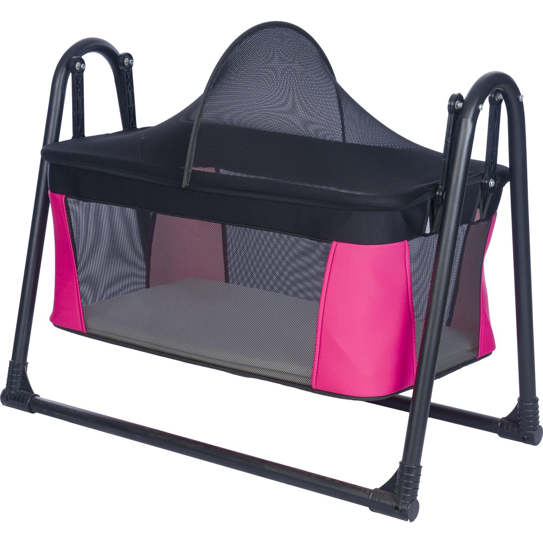 Роскошный детский портативный комплект-качалка Polly, сетчатая корзина, гамак, кровать, колыбель, 6 цветов на выбор