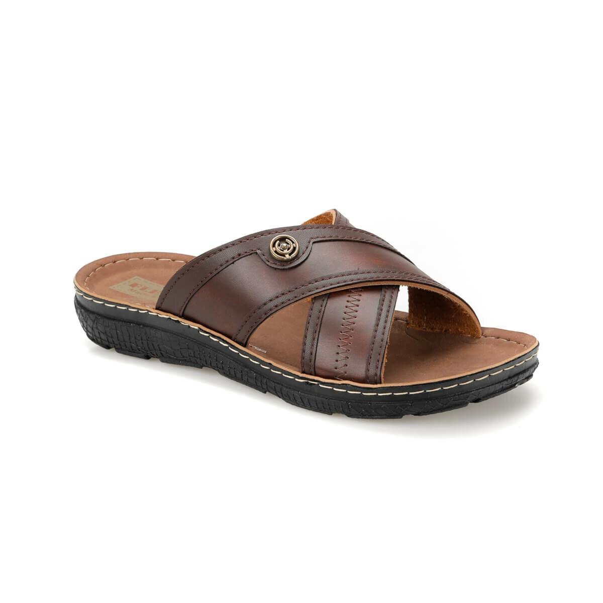 Flo LX-4937 c brown masculino chinelos flexall