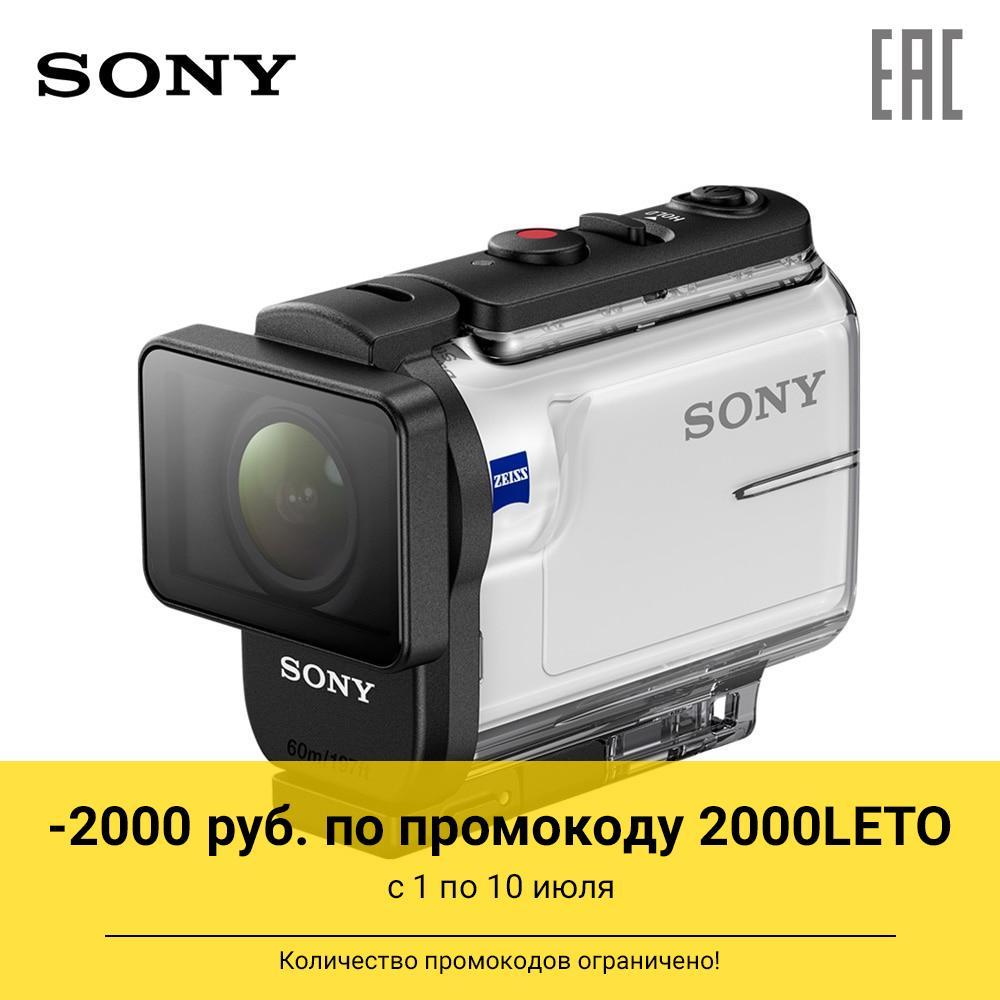 Экшн-камера Sony HDR-AS300 в комплекте с аквабоксом