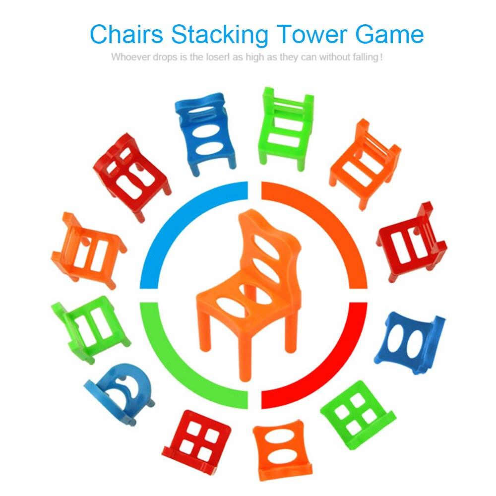 18 шт. набор балансирующих стульев, разнообразные штабелируемые стулья, детские игрушки для вечерние Ринок, игрушки для укладки, обучающие и... 18 104 набор для изготовления интерьерной игрушки ксюша 26см