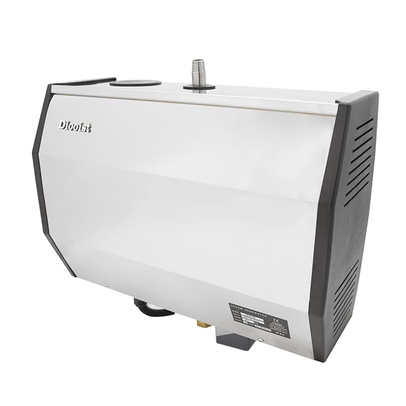7KW مولد حمام بخار التصريف الذاتي مع عناصر تحكم قابلة للبرمجة مقاوم للماء
