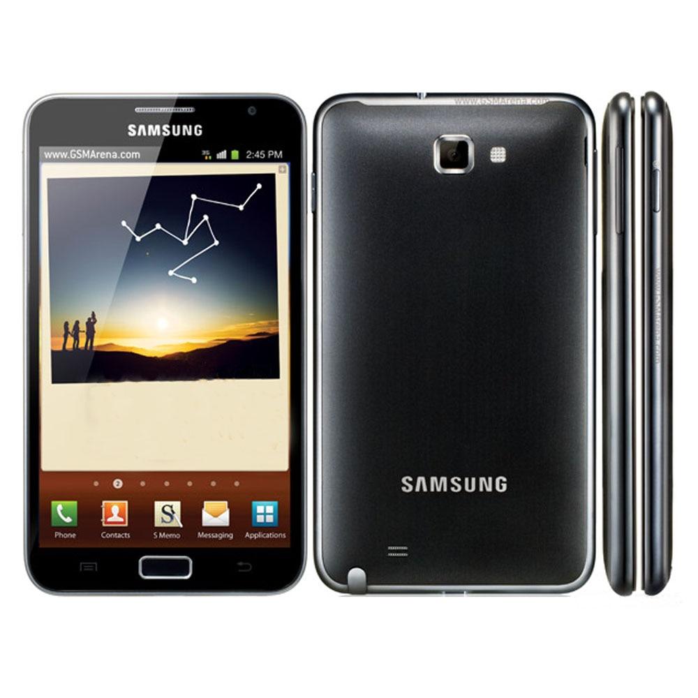 سامسونج غالاكسي نوت N7000 i9220 1GB RAM + 16GB تجديد ثنائي النواة 5.3 ''أندرويد الهاتف الخليوي 8MP 1080P واي فاي لتحديد المواقع الهاتف