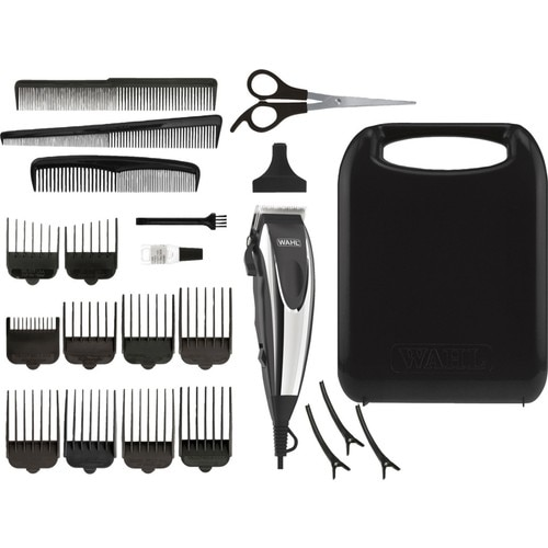 WAHL 09243-2616 Home Pro - Cord Hair Trimmer, Wired Hair Clipper, 22 Pieces, CE, Blade Width 46mm, abs+stainless steel, eu plug enlarge