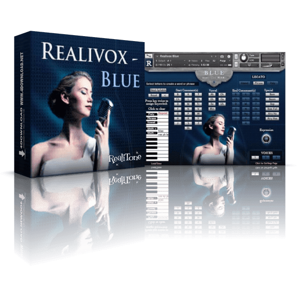 Realitone Realivox Blue KONTAKT Library