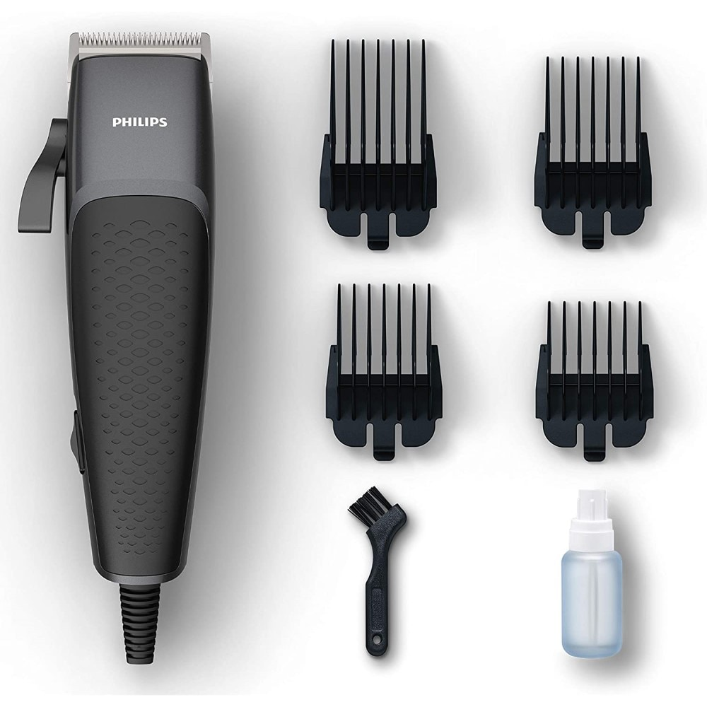 classic body grooming hair clippers shaving set haircut kit precision blade great for barbers and stylist guide combs attachment ORIGINAL Philips Hair Trimmer For Men 4 Combs Home Hair Clippers Haircut Shaver Razor Waterproof Blade Adjustable Hair Cutting