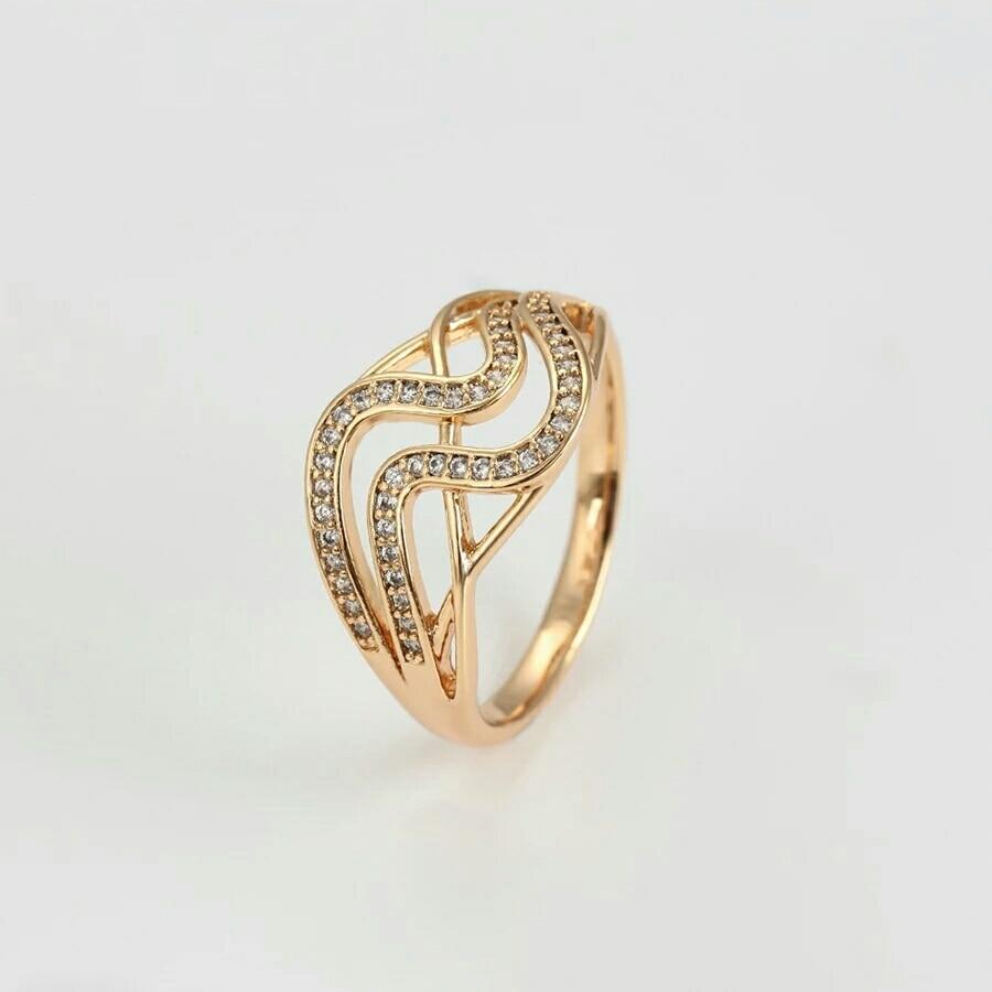 Conjunto de joyas pendientes y anillo de oro 18 K Catherine saloon