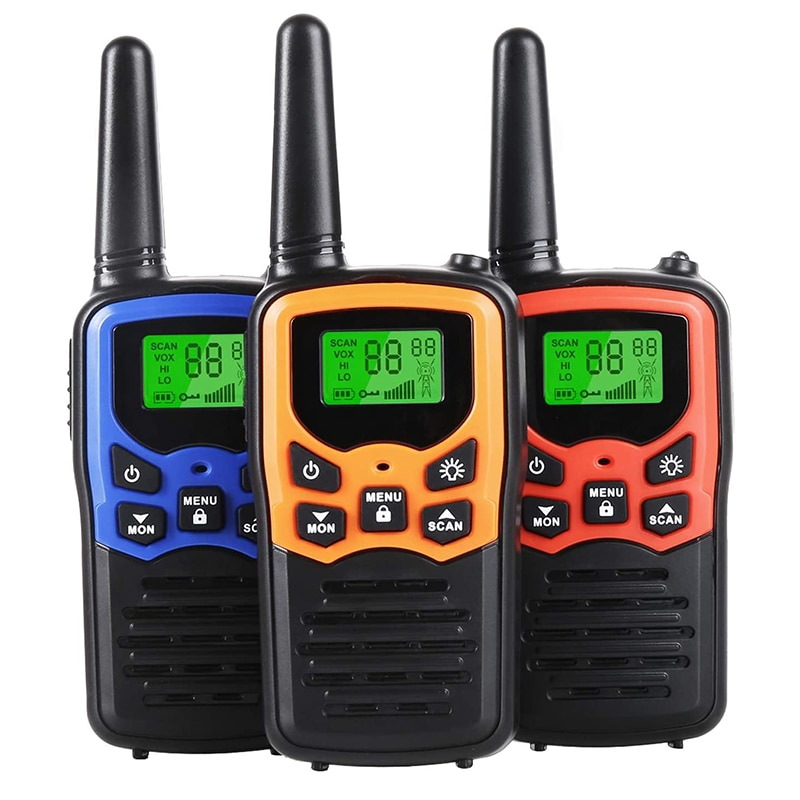 Walkie Talkies for Kids 5 Miles Long Range Two Way Radios 22 Channels Gift for Family Outdoor Advent