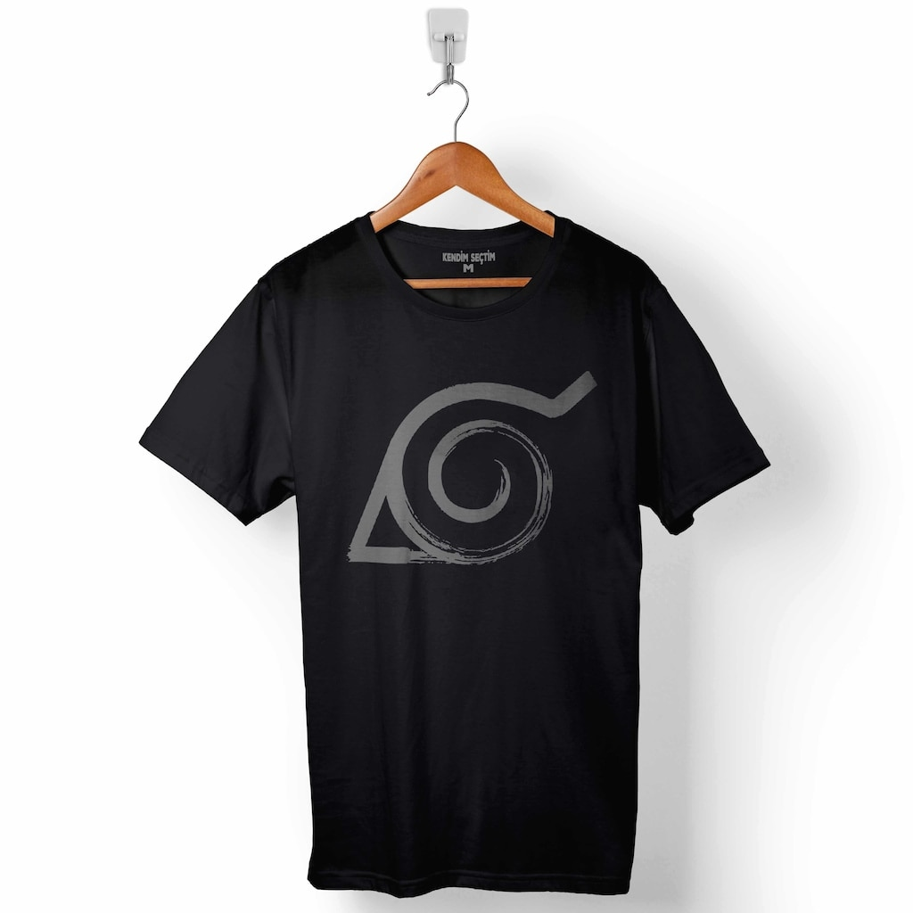 NARUTO ITACHI ANIME MANGA LOGO hombre Camiseta para