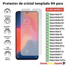 Защита экрана для Xiaomi Redmi Note 9T 9C 9A 9S 9 8A 8T 7 7A 10 Pro. Прозрачное закаленное стекло для мобильного телефона