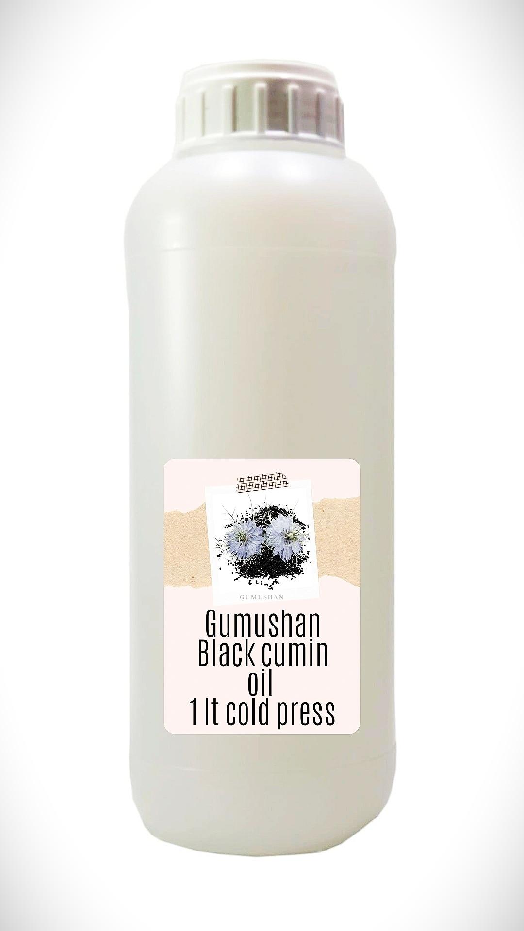 High quality pure Black Cumin Seed Oil 1 liter 34 fl oz 1000ml
