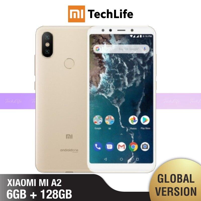 Globale Version Xiaomi Mi A2 128GB ROM 6GB RAM (Marke Neue/Versiegelt) mi a2, mia2 Smartphone Mobile