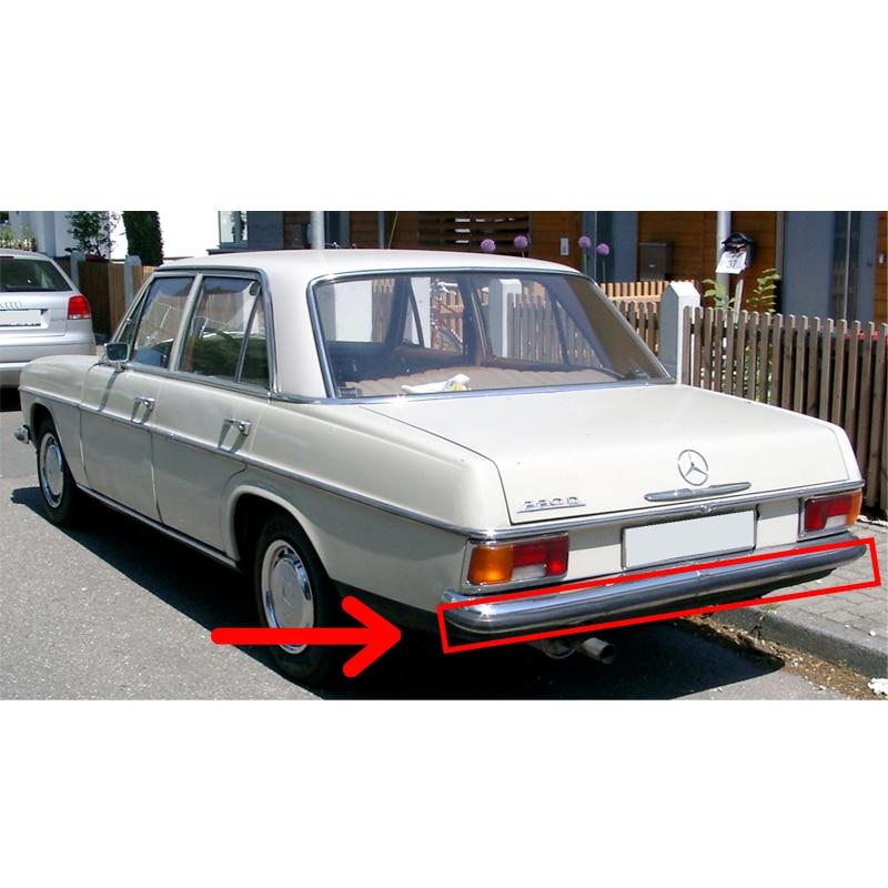 Mercedes w114... w115 de goma para parachoques trasero Protector tipo corto Clase...