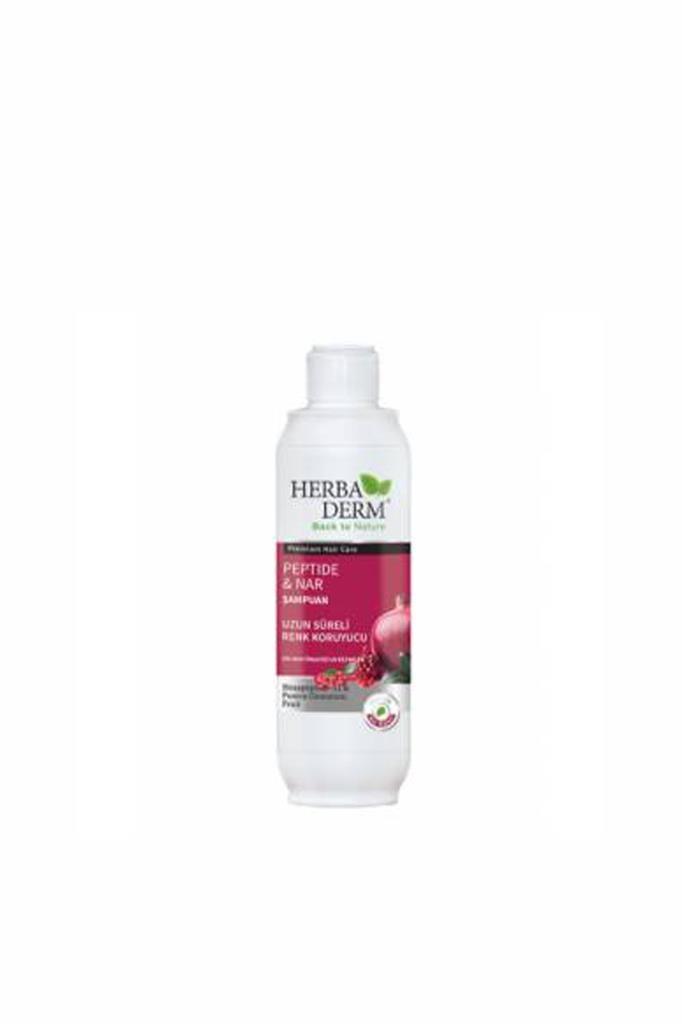 Champú de péptido y Granada Herbaderm de 330 ml