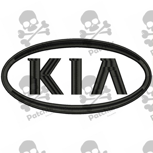 KIA Iron patch Toppa ricamata gestickter patch brode remendo bordado parche bordado