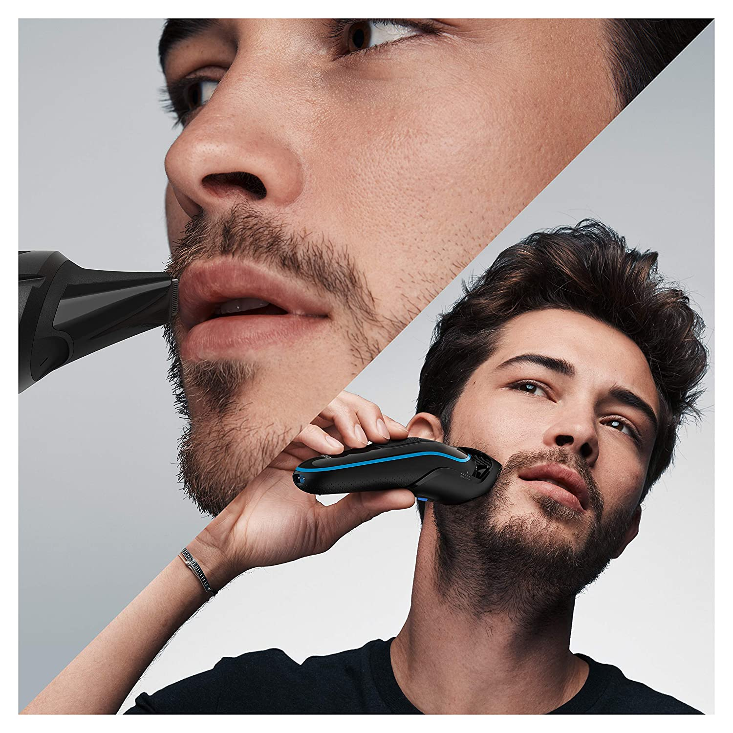 Braun Hair Clippers for Men MGK5245, 7-in-1 Beard Trimmer, Detail Trimmer, Cordless & Rechargeable, with Gillette ProGlide Razor enlarge