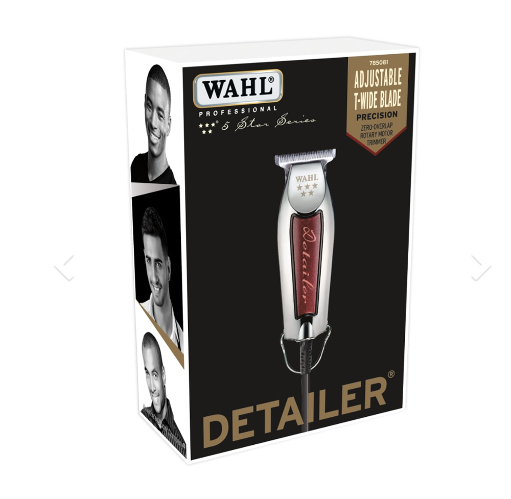 Wahl 80815-Star Detailer Adjustable T Blade, Extremely Close Trimming, Clean Lines, Professional Barbers Hair Tattooing Machine enlarge