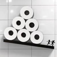 Rouleaux de papier hygienique faits a la main  4 Types  porte-serviettes  etagere de rangement  salle de bain  nouveaute