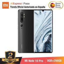 Mi Note 10 PRO (ROM 256 go avec 8 go de RAM, Cámara 108 MP , Android, Nuevo, Móvil)