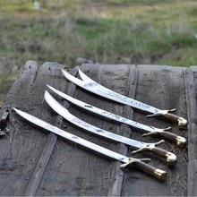 Jeu dépée 4 x haute qualité fabriqué à la main épée Ottoman kilij épée
