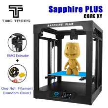 ZWEI BÄUME 3D Drucker Sapphire plus CoreXY BMG Extruder + TMC2208 Core xy 300*300*350mm DIY kits 3,5 zoll touchscreen facesheild