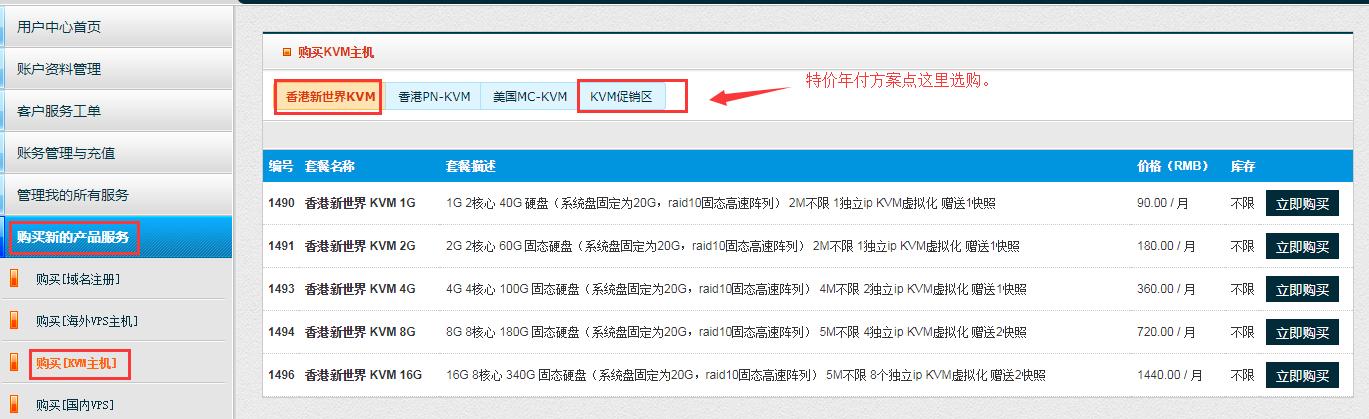 80VPS上线香港新世界机房VPS,大陆CN2直连,终身6折,2核1G特价299元/年