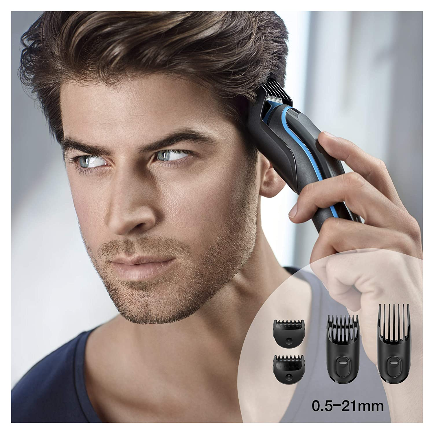 Braun Hair Clippers for Men MGK3980, 9-in-1 Beard Trimmer, Ear and Nose Trimmer, Body Groomer, Detail Trimmer enlarge