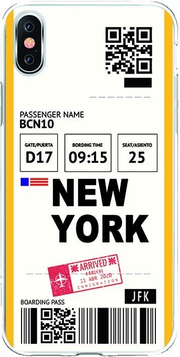 Funda Silicona TPU Dibujo SW0053 New York Arrived para Oneplus 6