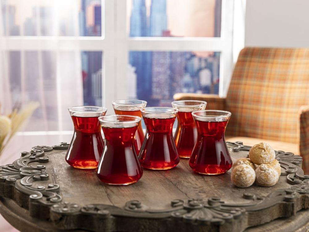 التركية كوب الشاي مجموعة الشاي الأسود الحديثة 6 قطع 125 مللي أفضل كوب القهوة المنزل مقهى Anatolian المشاعر شحن مجاني