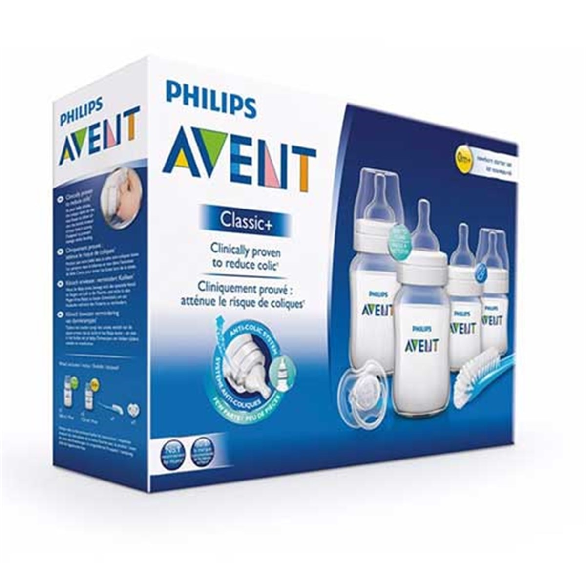 Original Philips Avent Natural newborn feeding bottle set BPA-free baby bottle varieties healthy product fast shipping 8 options