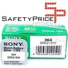 5x batterie d'origine SONY Boton 364 (sr621sw) 1,55V