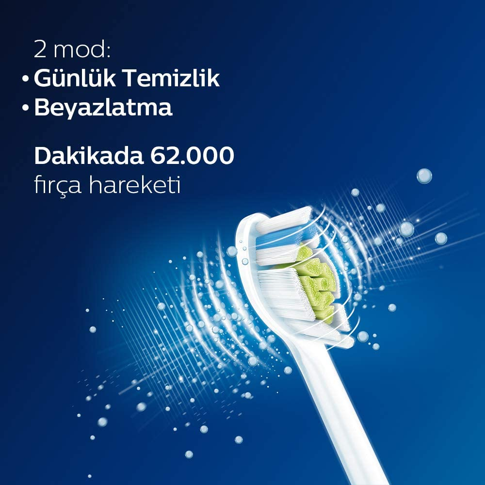Philips HX6807 / 24 Sonicare Protective Clean 6100 Sonic Cordless Toothbrush enlarge