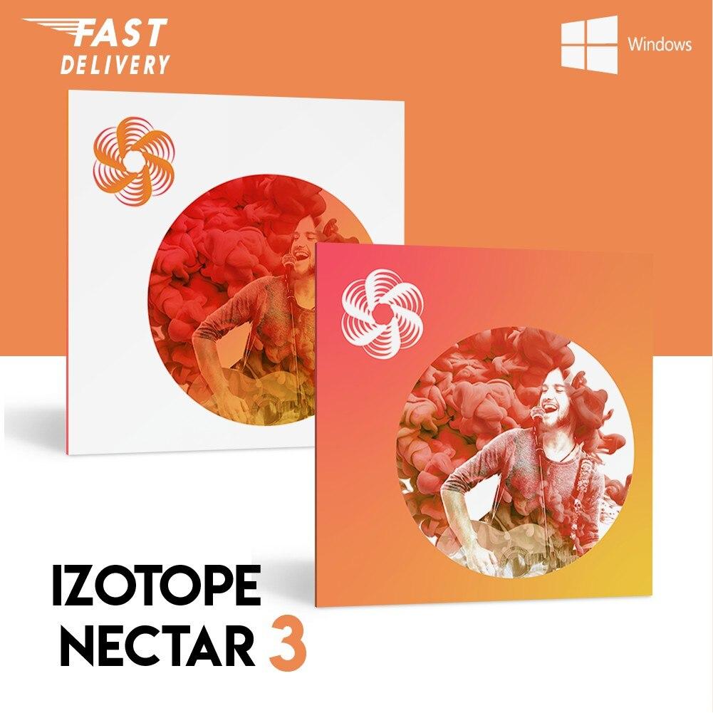 IZOTOPE NECTAR 3 PLUGIN VST BUNDLE [WIN 64BIT & MAC]