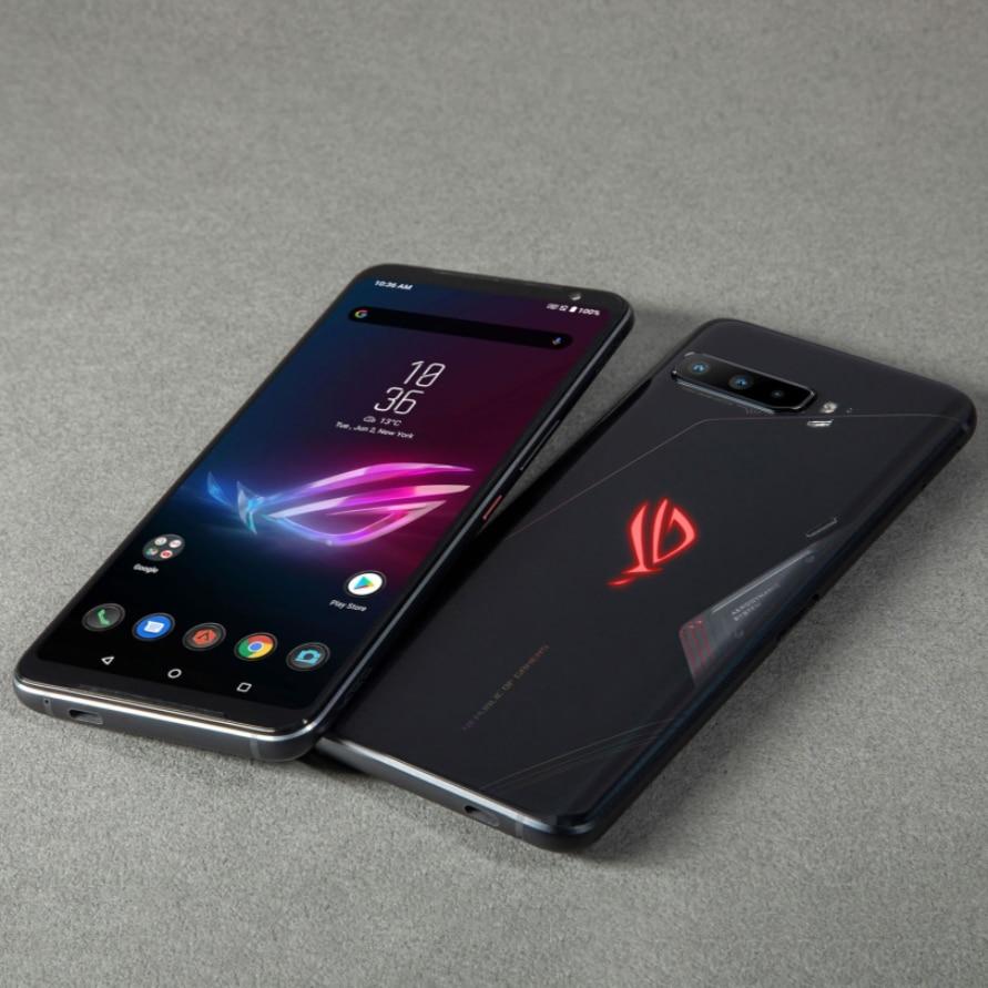 Фото4 - Оригинальный телефон ASUS ROG Phone 3 глобальная версия ZS661KS Snapdragon 865/865Plus 128/256 ГБ NFC Android Q OTA обновление